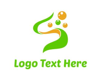 Seaweed - Green Seaweed logo design