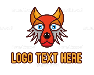 """""""Colorful Fox Hound"""" by arishu"""