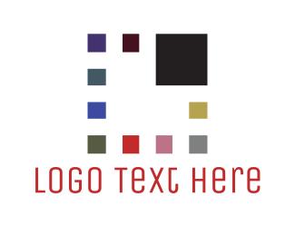 Bitmap - Pixel Square logo design