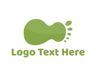 Feet - Green Foot logo design