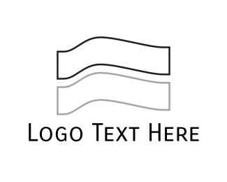 Layers - White Flag logo design
