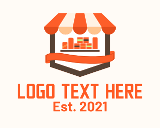 Mart - Grocery Store Icon logo design