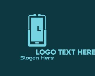 Online Doctor Stethoscope Logo