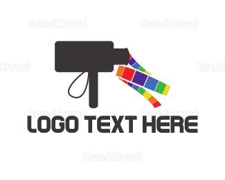 Film - Rainbow Film logo design