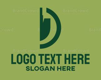 Mine - Dig Shovel logo design