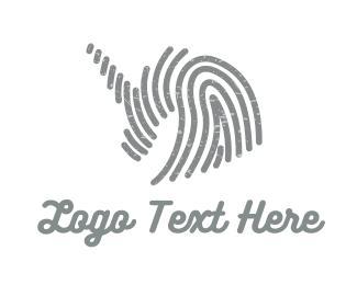 Artistic - Grey Unicorn logo design