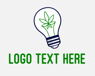 Weed - Cannabis Idea logo design