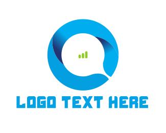 Letter O - Abstract Letter O logo design