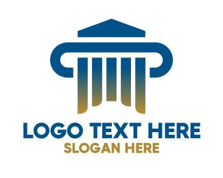 Firm - Professional Institution Organization logo design