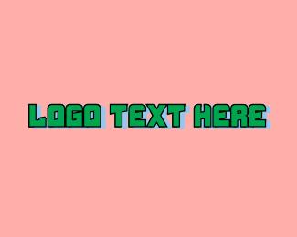 Startup - Green Tech Startup Wordmark logo design