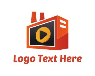 Radio - Media Radio logo design