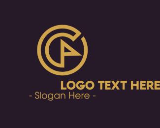 Generic - Generic Flag Circle logo design