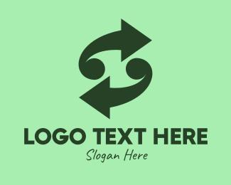 Business - Green Arrow Business logo design