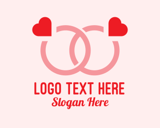 Couple Engagement Ring  Logo