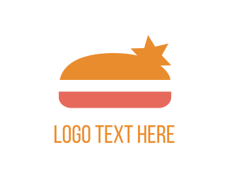 Burger Bar - Star Burger logo design