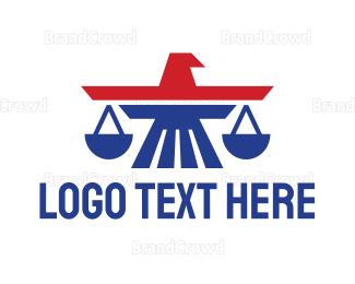 Lawyer - US Aviation Law logo design