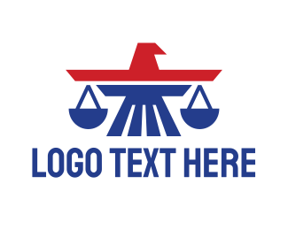 Law - American Eagle Law logo design