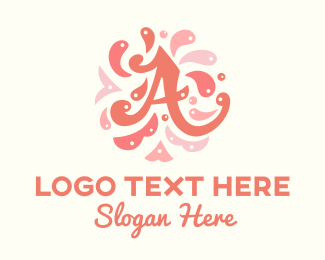 Creativity - Artsy Letter A logo design