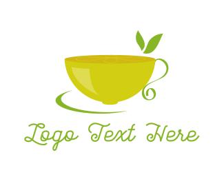 Tea -  Lemon Tea logo design