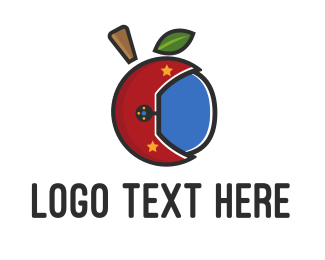 Apple - Apple Helmet logo design