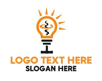 Idea - Unscrew Idea logo design