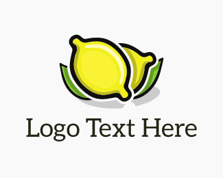 Yellow Lemon - Lemon Fresh logo design