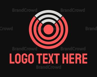Vpn - Wifi Target logo design