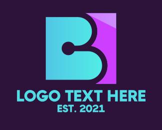 Consultation Letter B Logo Maker
