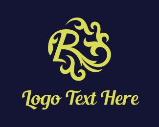 Letter R - Green Letter R logo design