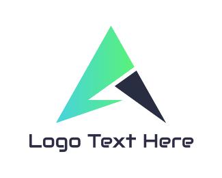 Arrow - Tech Mint Arrow logo design