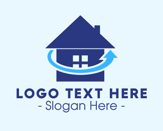 Home Insurance - Refresh Home logo design