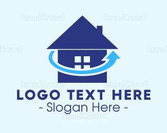 Website - Refresh Home logo design