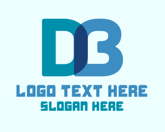 Db - Digital D & B Monogram logo design