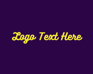 """""""Yellow Neon Sign"""" by BrandCrowd"""