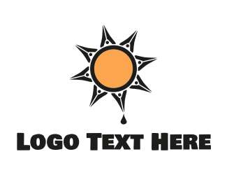 Mexican - Ink Sun logo design