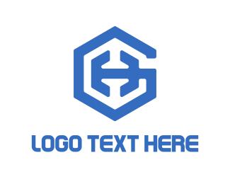 Letter H - Blue Shield logo design