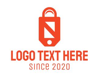 Purchase - Online Shopping Bag logo design