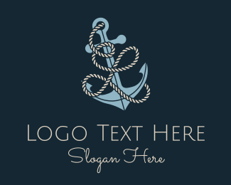 """""""Anchor Rope Letter L"""" by brandcrowd"""