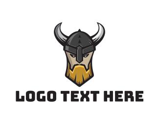 Warrior - Viking Warrior Clan logo design