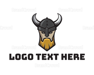 No - Viking Warrior Clan logo design