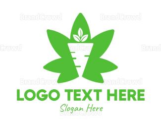 Carrot - Cannabis Carrot logo design