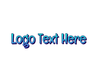Teen - Blue & Funky logo design