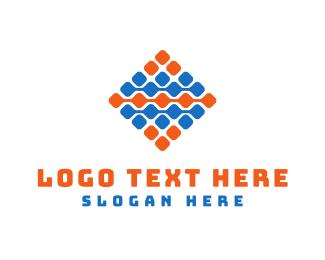 Grid - Tech Grid  logo design