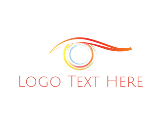 Ophthalmology - Colorful Eye logo design