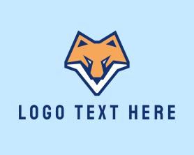 Jackal - Fox Animal Mascot logo design