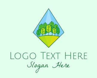 Arborist - Diamond Forest Arborist logo design