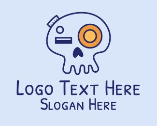 Photograph - Skull Doodle Photography logo design