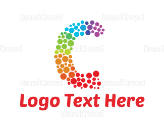 Crowdfunding - Colorful Letter C logo design