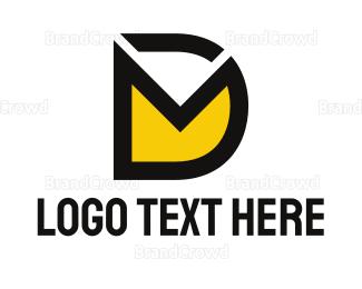 Post Office - D & Envelope logo design