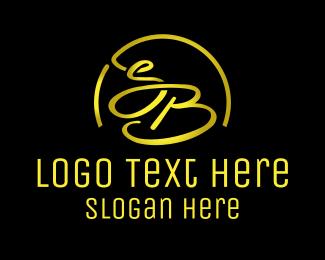 Sandblast - S & B logo design
